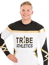 Twisted Men's Cheer Top from GK Cheer